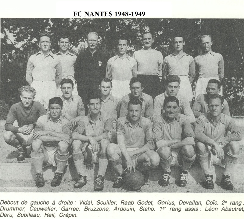 Photo FCN Saison 1948-49