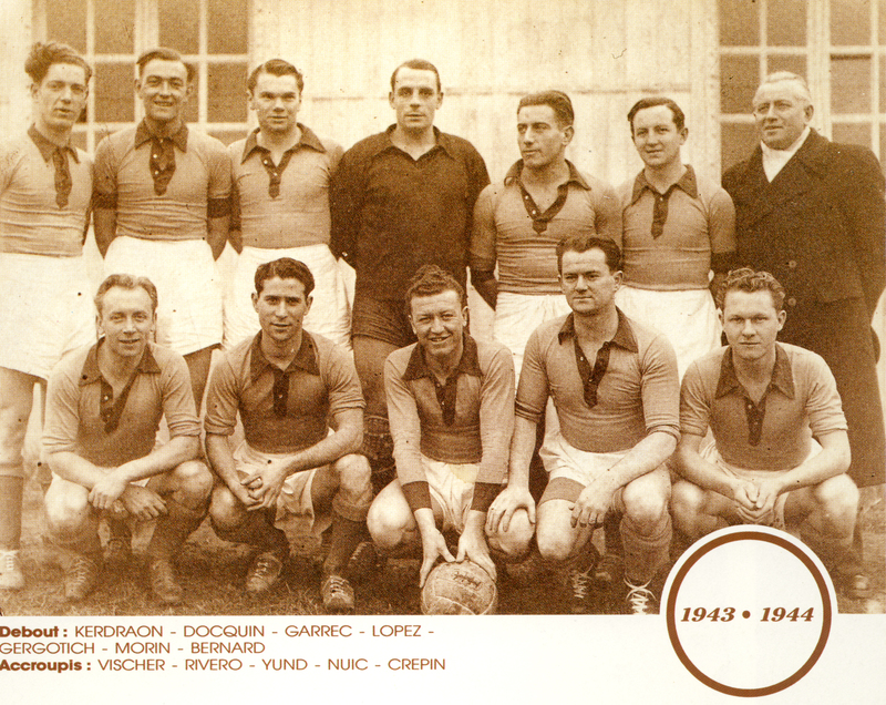 Photo FCN Saison 1943-44