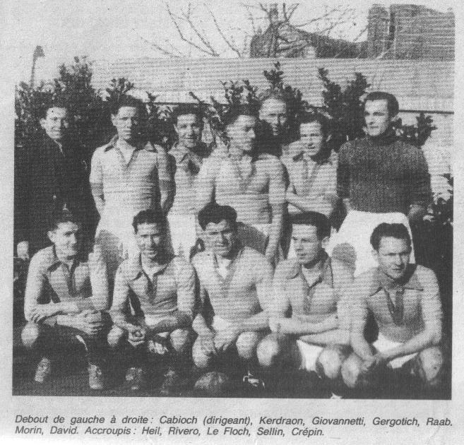 Photo FCN Saison 1944-45